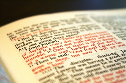 Open Bible - photo by jypsygen on Flickr