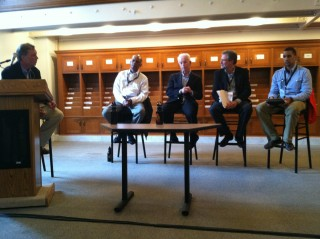 Boston Book Festival panel discussion; Unbound: Books Behind Bars moderator and panelists